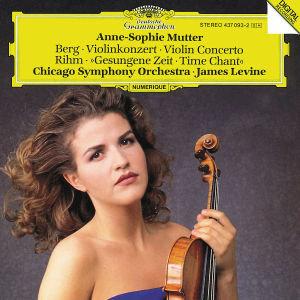 Violinkonzert/Gesungene Zeit