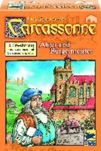 Carcassonne. Abtei und Bürgermeister. Die 5. Erweiterung