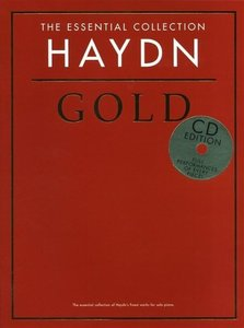 HAYDN GOLD ESSENTIAL COLLECTION PIANO BOOK/2CD