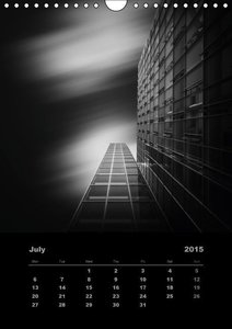 Mystic Skyscrapers (Wall Calendar 2015 DIN A4 Portrait)