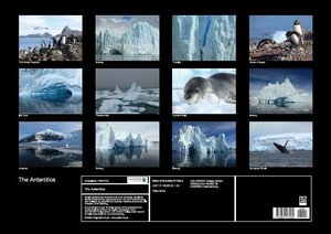 The Antarctica (Poster Book DIN A2 Landscape)