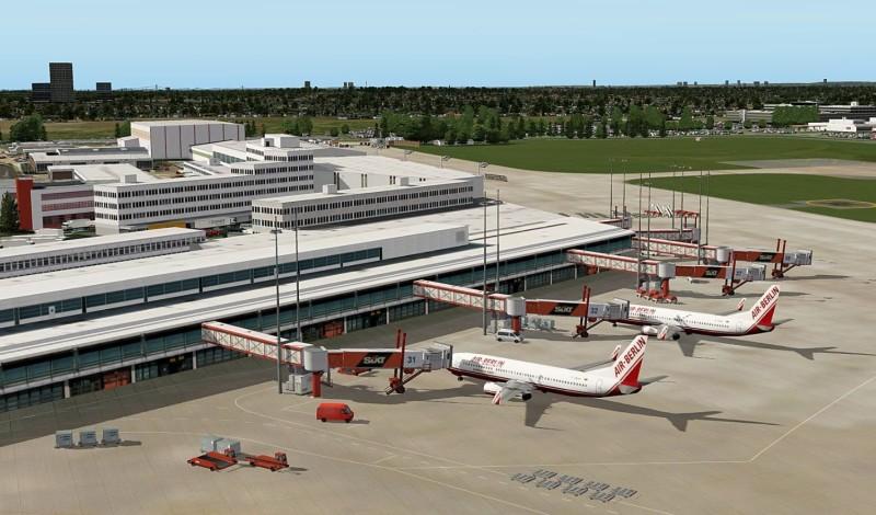 Flight Simulator X - X-Plane 10 Airport Hamburg - zum Schließen ins Bild klicken