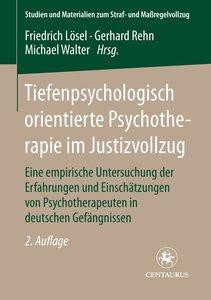 Tiefenpsychologisch orientierte Psychotherapie im Justizvollzug