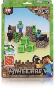 Minecraft 16703 - Feindliche Mobs, Papierset, 30 Teile