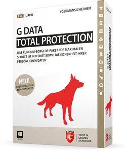G Data Total Protection 2015 - Schutz für 1 Jahr/1 PC
