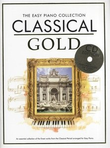 THE EASY PIANO COLLECTION CLASSICAL GOLD EASY PIANO BOOK/CD