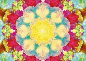 Ornements floraux d'Alaya Gadeh (Livre poster DIN A4 horizontal)