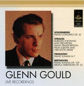 Glenn Gould-Live recordings