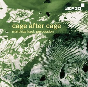 Cage After Cage.Works For Solo Percussion