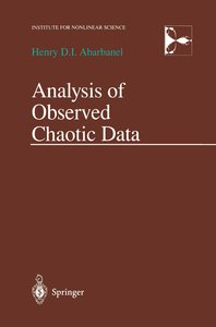 Analysis of Observed Chaotic Data