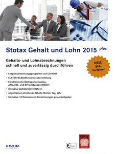 Stotax Gehalt und Lohn Plus 2015