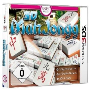 Purple Hills: 3D Mahjongg (3DS)