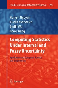 Computing Statistics under Interval and Fuzzy Uncertainty