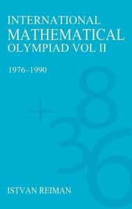 International Mathematical Olympiad Volume 2