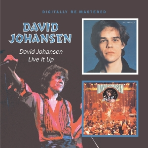 David Johansen/Live It Up - zum Schließen ins Bild klicken