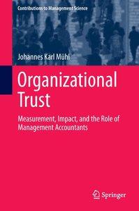 Organizational Trust