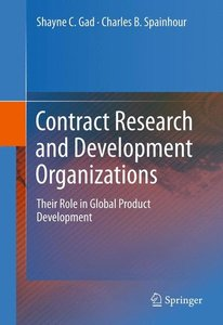 Contract Research and Development Organizations
