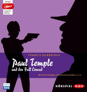 Paul Temple und der Fall Conrad (mp3-Ausgabe)