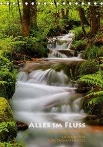 Alles im Fluss - Schwarzwaldwasser (Tischkalender 2016 DIN A5 ho