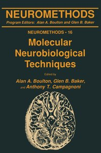 Molecular Neurobiological Techniques