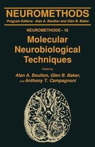 Molecular Neurobiological Techniques