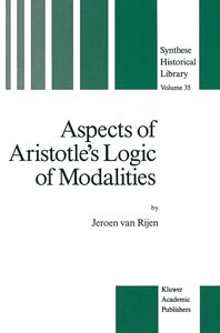 Aspects of Aristotle's Logic of Modalities