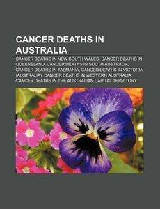 Cancer deaths in Australia