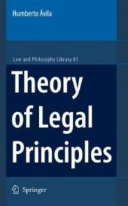 Theory of Legal Principles