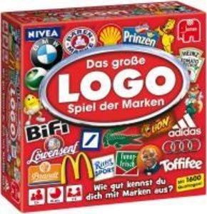 Jumbo Spiele 12756 - LOGO Das Markenspiel