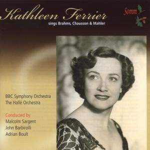 Kathleen Ferrier sings Brahms,Chausson & Mahler