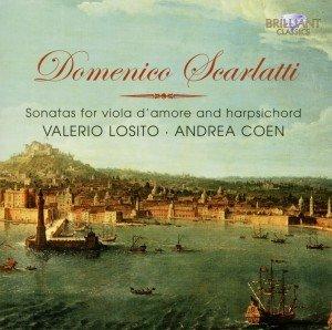 Scarlatti: Sonaten für Viola d'amore und Basso con