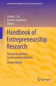 Handbook of Entrepreneurship Research
