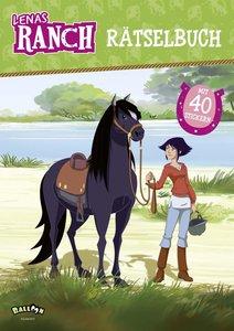 Lenas Ranch - Rätselbuch mit 40 Stickern