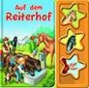 Auf dem Reiterhof, 3 Button Soundbuch