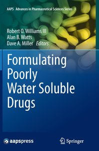 Formulating Poorly Water Soluble Drugs