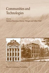 Communities and Technologies