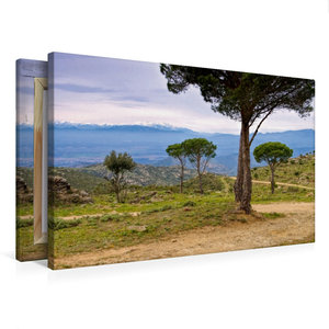 Premium Textil-Leinwand 75 cm x 50 cm quer Pic du Canigou