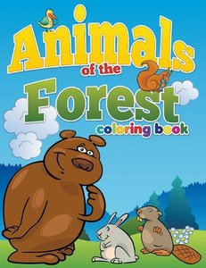 Animals of the Forest Coloring Book