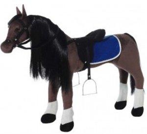 Heunec 729070 - Wendy Bajan Araber-Stehpferd mit Stimme, 100cm