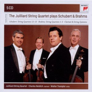 The Juilliard String Quartet plays Schubert&Brahms