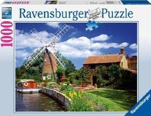 Ravensburger 15786 - Malerische Windmühle, 1000 Teile Puzzle