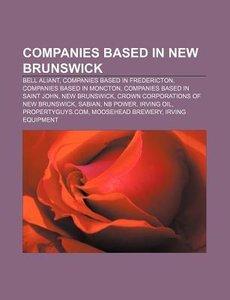 Companies based in New Brunswick