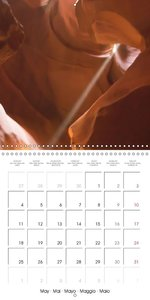 Beautiful Antelope Canyon (Wall Calendar 2015 300 × 300 mm Squar