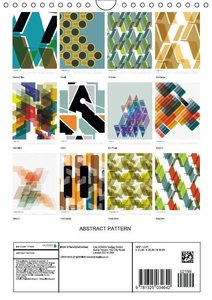 ABSTRACT PATTERN (Wall Calendar 2015 DIN A4 Portrait)