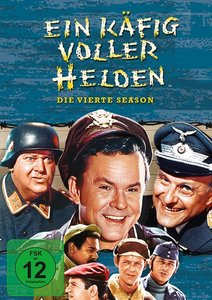 Ein Käfig voller Helden - Season 4 (4 Discs, Multibox)