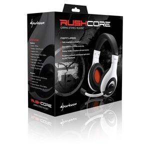 Sharkoon Rush Core - Gaming Headset (weiß )