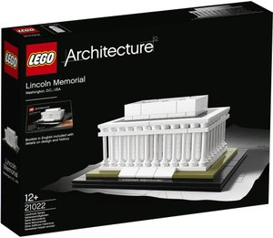 LEGO 21022 - Architecture: Lincoln Memorial