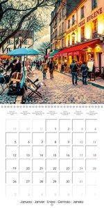 Paris, s\'il vous plaît! (Wall Calendar 2015 300 × 300 mm Square