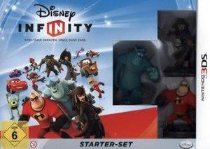 Disney INFINITY - Starter Set 3DS (inkl. 3 Figuren, Portal und 1