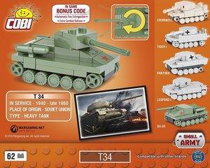 Cobi 3021 - Nano Tank T34, World of Tanks, 62 Bausteine